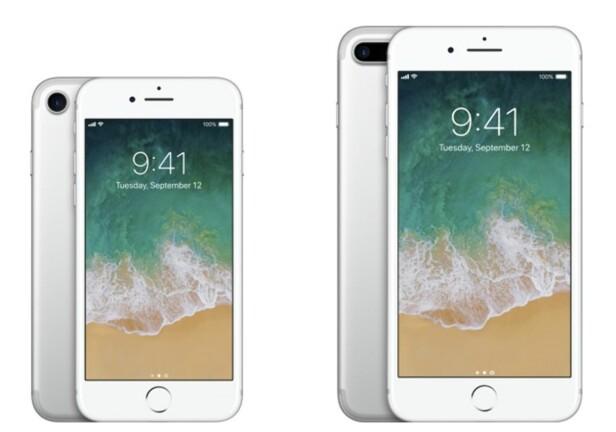 MYE LIKT: 7 og 7 Plus har mange fellestrekk fra foregående modeller, men mangler hodetelefonutgang. Foto: Apple