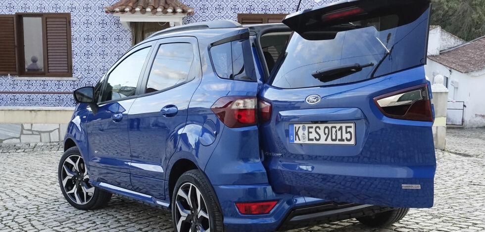 image: Vi har testet Fords nye, kompakte firehjulstrekker