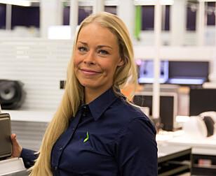 Madeleine Schøyen Bergly, kommunikasjonsansvalig i Elkjøp Norge AS. Foto: Rune Dyrhaug.