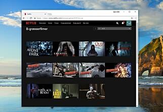 Slik får du tilgang til tusenvis av skjulte Netflix-kategorier