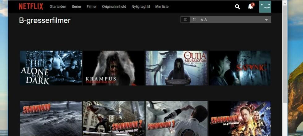 Få tusenvis av skjulte Netflix-kategorier