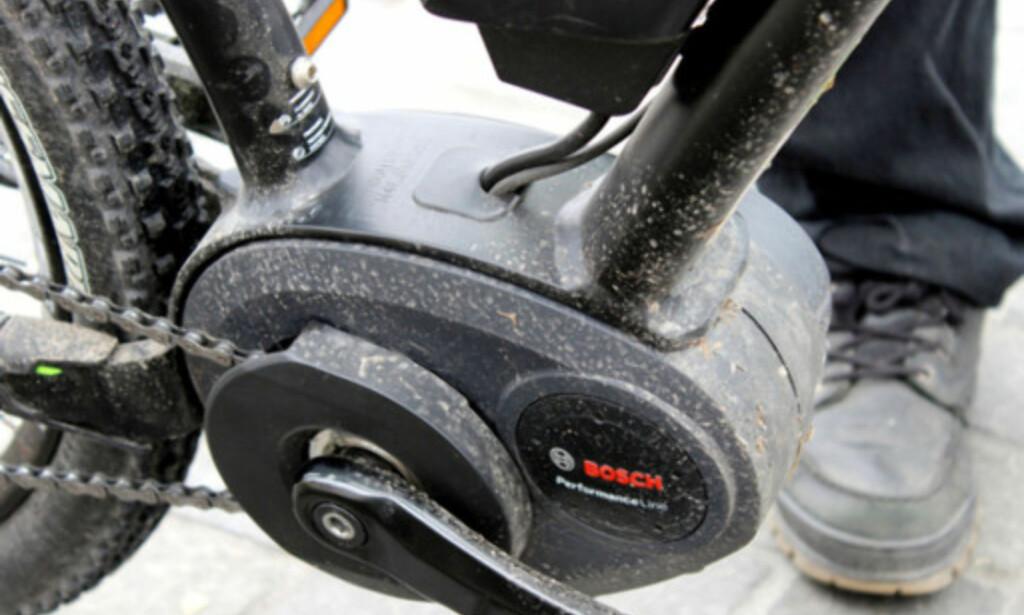 HOLDER: Motoren tåler de aller fleste temperaturer. Foto: Ole Petter Baugerød Stokke