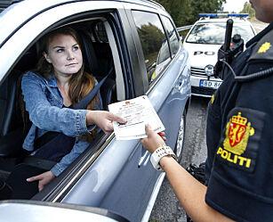 image: Nå gjelder det nye punktet for prikker på førerkortet