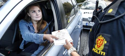Nå gjelder det nye punktet for prikker på førerkortet