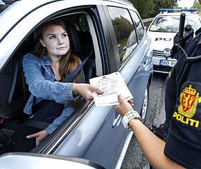 image: Slik er reglene for prikker på førerkortet