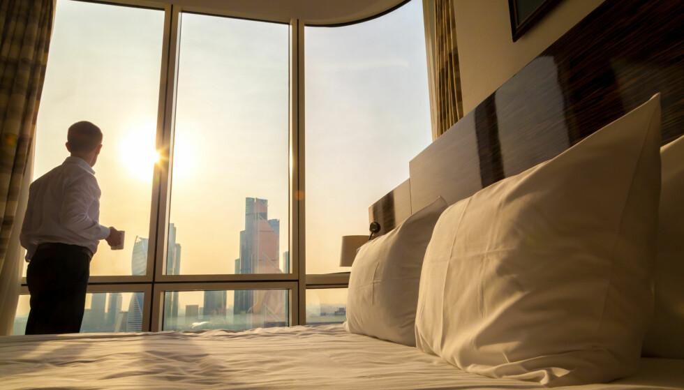 FANTASIPRIS: Luksuriøse storbyhoteller som lever av forretningsreisende har ofte gode tilbud når etterspørselen svikter. Foto: Shutterstock/NTB scanpix