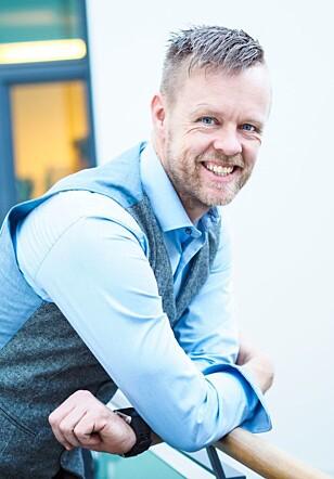 PÅ JAKT: Sikkerhetssjef Geir Petter Gjefsen i Finn.no jakter nå etter partnere for en ny sikker betalingsløsning. Foto: Finn