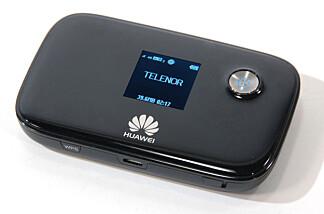 MINIRUTER: Slike rutere er lette å flytte på og kan fungere noen timer på batteri. Foto: Brynjulf Blix