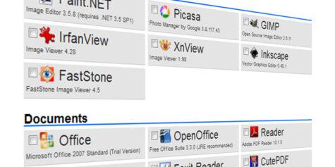image: Ninite: Lynrask installasjon av programmer
