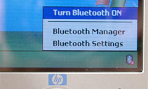 Innebygd Bluetooth er et pluss