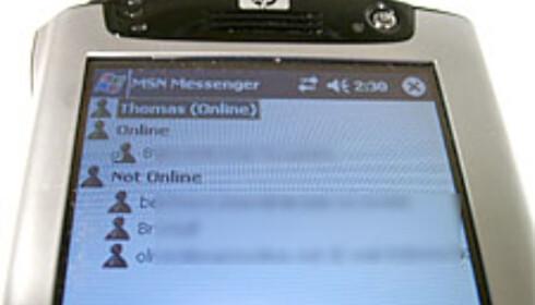 Det er fort gjort å koble seg til MSN Messenger