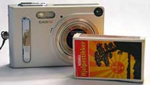 Joda, det er snakk om et virkelig lite kamera.