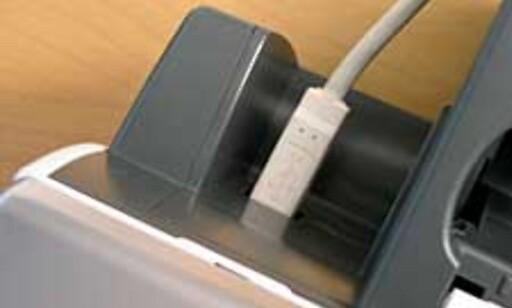 i950 kan kun kommunisere via USB - uten at vi tror mange blir skuffet av den grunn.