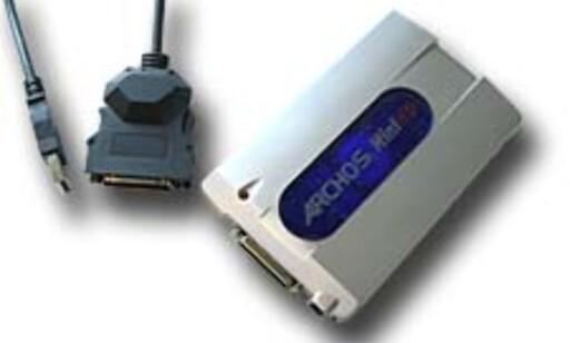 image: USB 2.0: 40 GB mini-harddisk