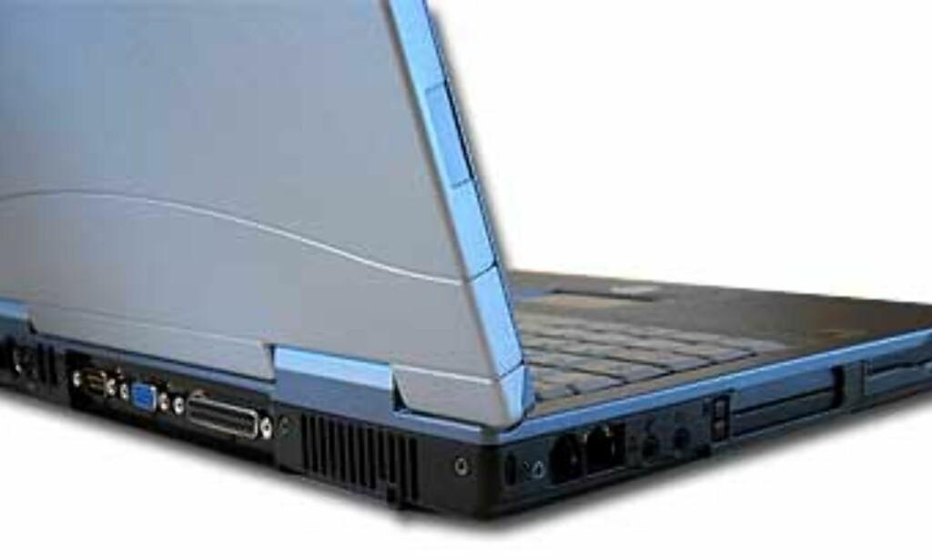 Lifebook C1020 har bra med tilkoblingsmuligheter, blant annet FireWire for videoredigering og høyhastighets tilkobling til eksterne harddisker, DVD-brennere etc.