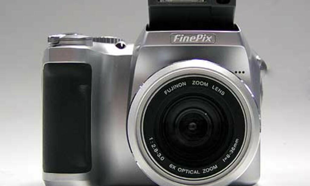 FinePix S304 er et flott kamera, også utseendemessig.
