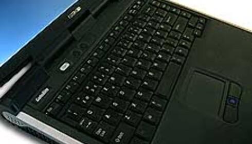Tastaturet har en del merkelige plasseringer av enkelte spesialtaster.