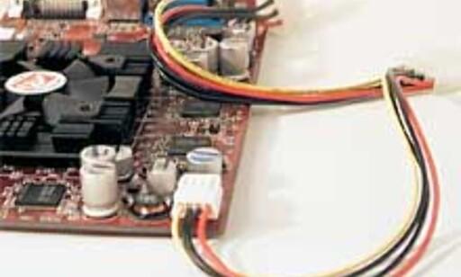 En egen strømkabel må kobles til