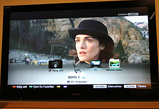 TEST: Sony KDL NX700 og Sony KDL EX700