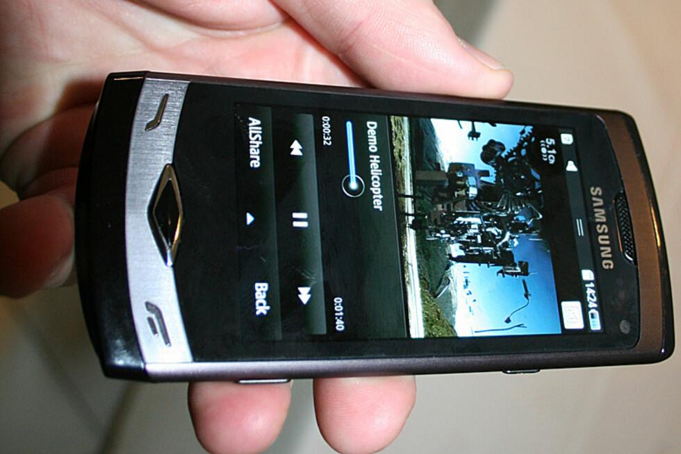 Samsung Wave gjorde et godt førsteinntrykk.  Foto: Øyvind P