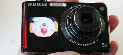 Samsung P150 og PL100 smiler til deg