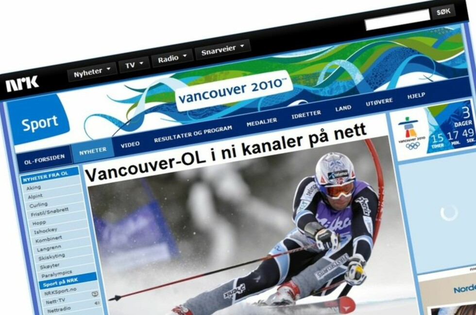 NRK og Microsoft gir deg den beste OL-opplevelsen