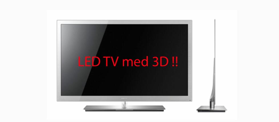 Samsungs TV og 3D-nyheter i 2010