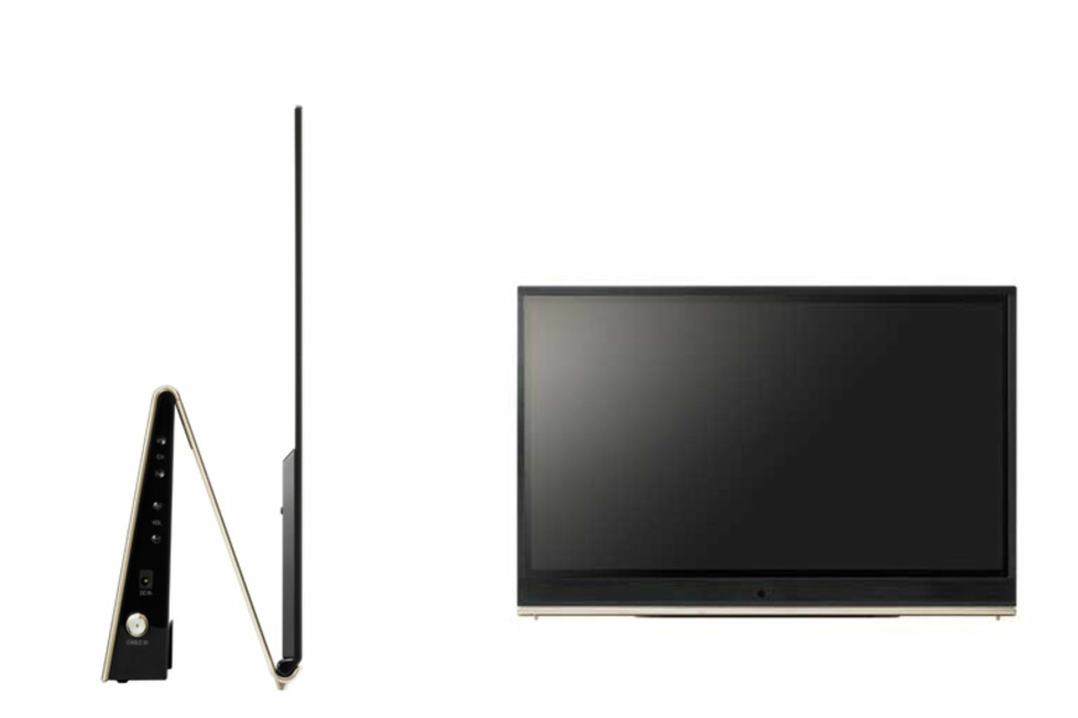 LG EL9500.  Så tynn er den altså. Foto: Produktbilde - LG