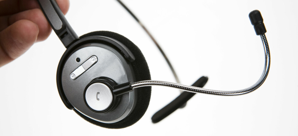 Lite, enkelt og billig. Legg merke til den bøyelige mikrofonarmen. Foto: Per Ervland