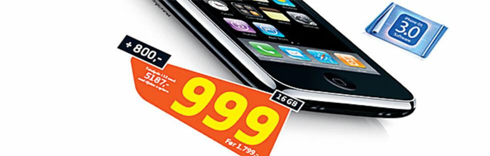 Nå dumpes iPhone-prisene