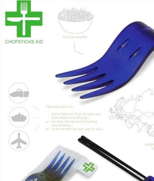 Dette produktet bør få pinner å gå på, om det kommer i salg. Designer er tsjekkiske Jaroslav Kucera.
