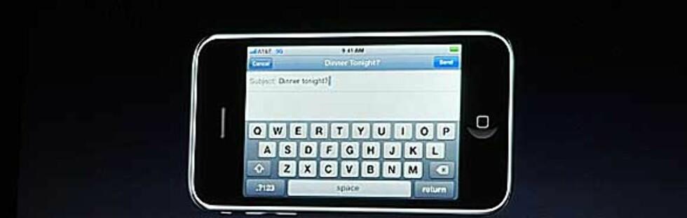 iPhone OS 3.0: Her er nyhetene