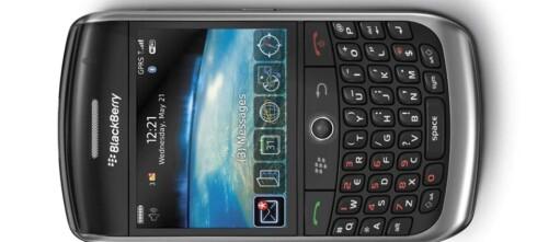 Test: BlackBerry Curve 8900