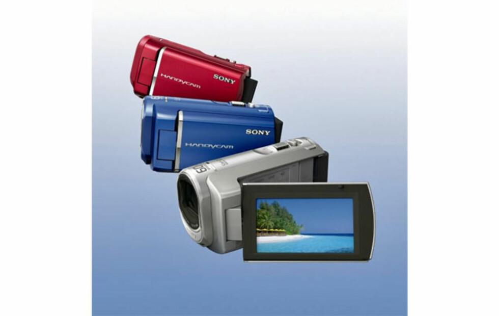Sony lanserer nye handycam
