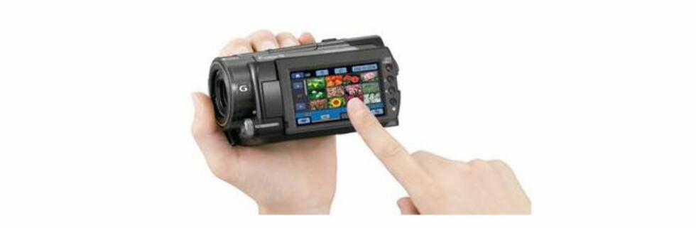HD-kamera med GPS