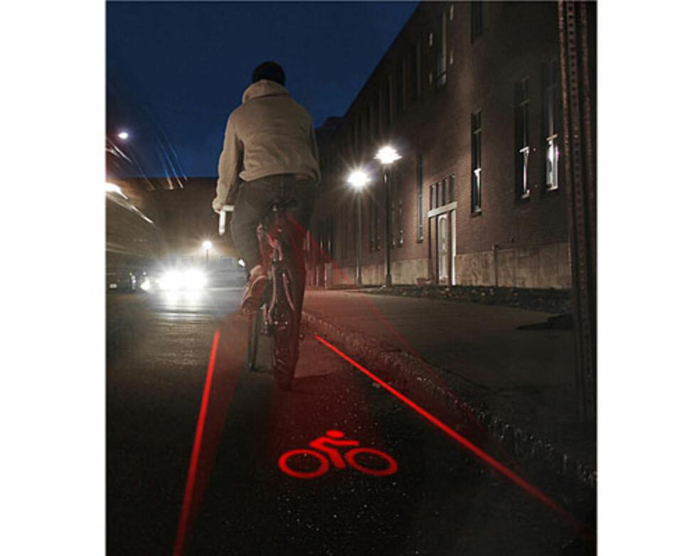 Lys opp din egen sykkelbane