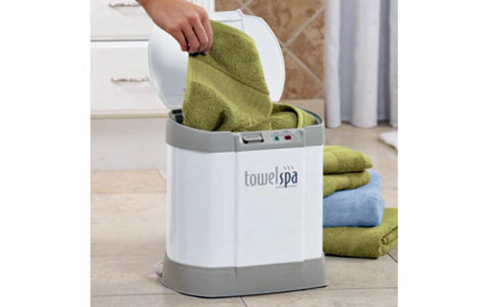 Varme håndklær på 5 minutt