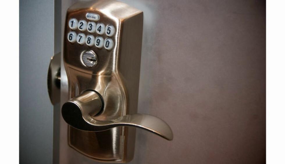 Lås døra med mobilen
