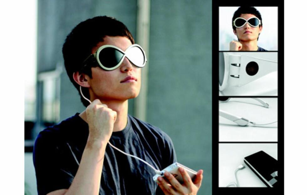 Solbriller med solceller