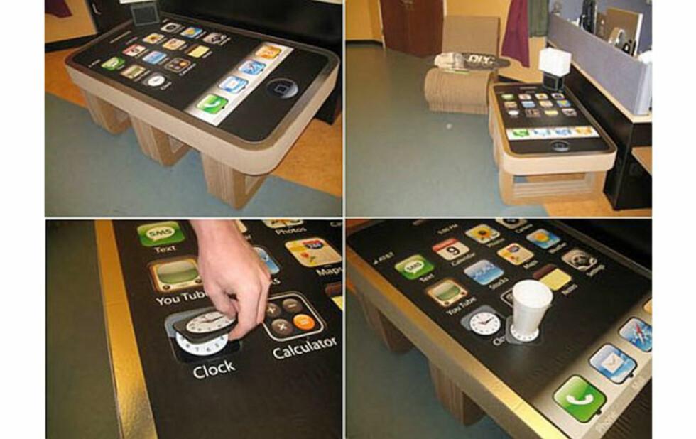 Tøft Apple-bord