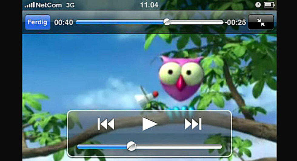NYHET: Mobil-TV for iPhone 3G