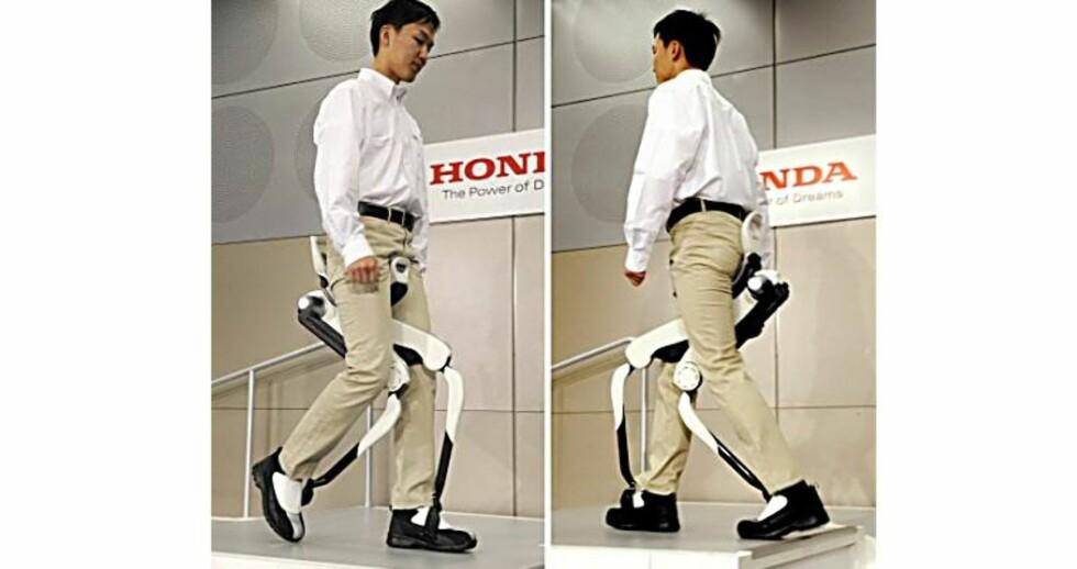 Honda lanserer gåmaskin