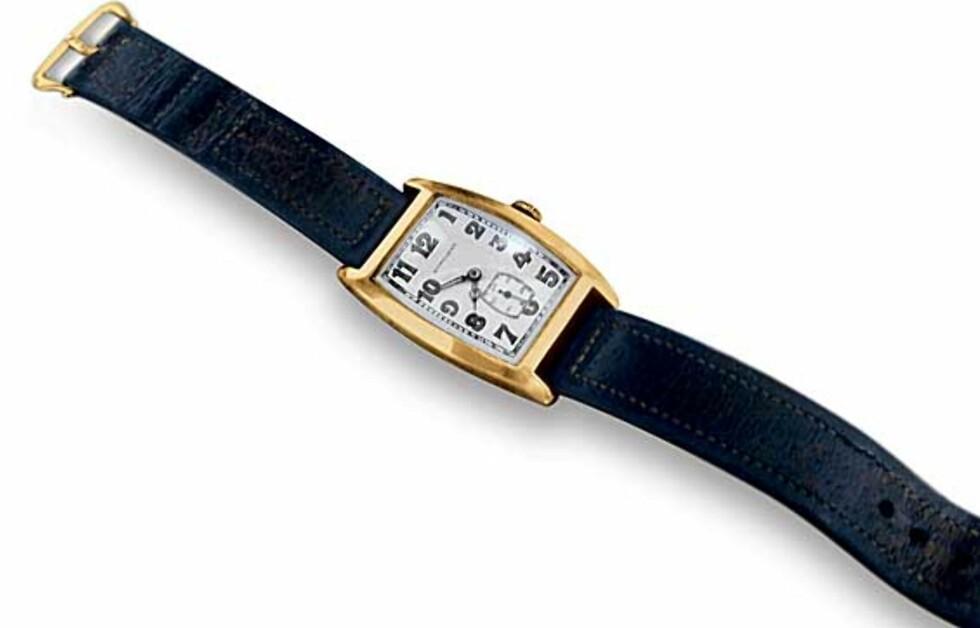 Denne klokka har tilhørt et geni