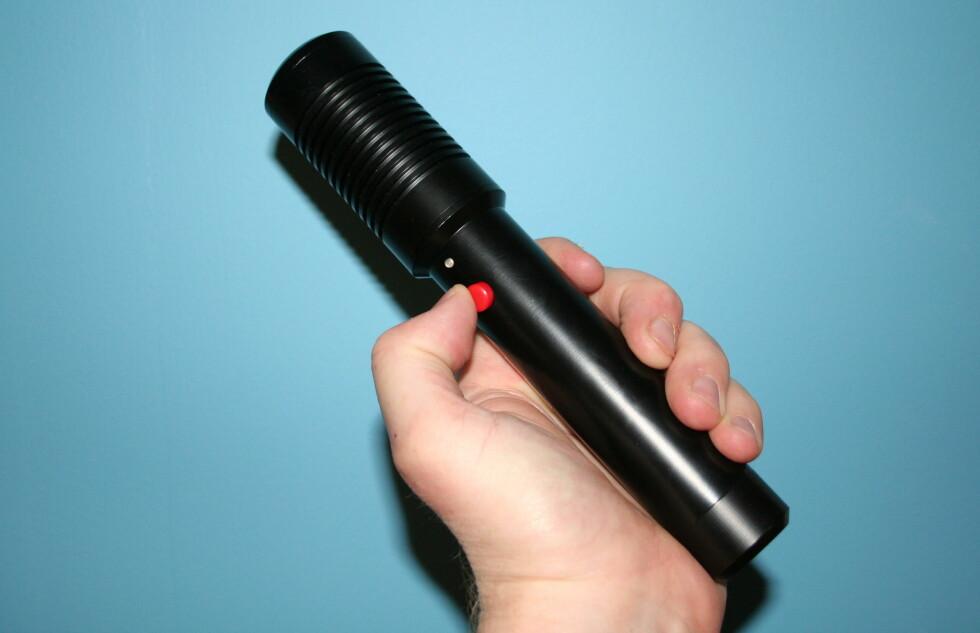 TEST: Norges kraftigste håndholdte laser?