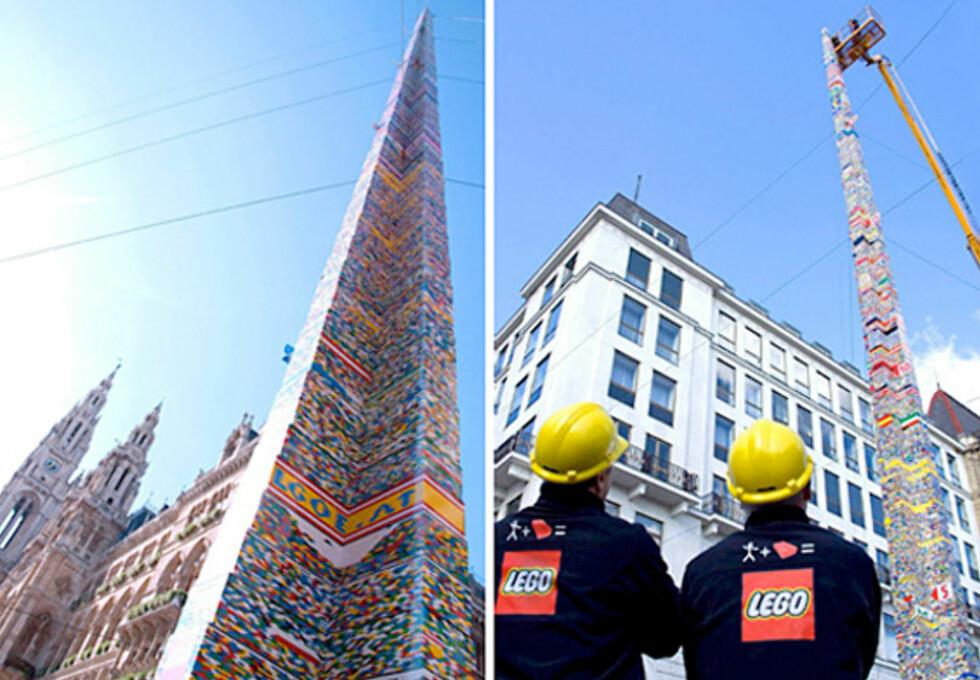 Verdens høyeste Lego-tårn
