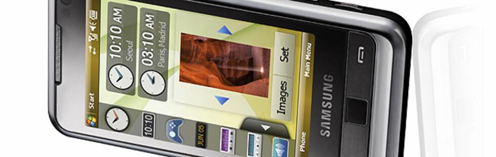 Første kikk på Samsung Omnia i900