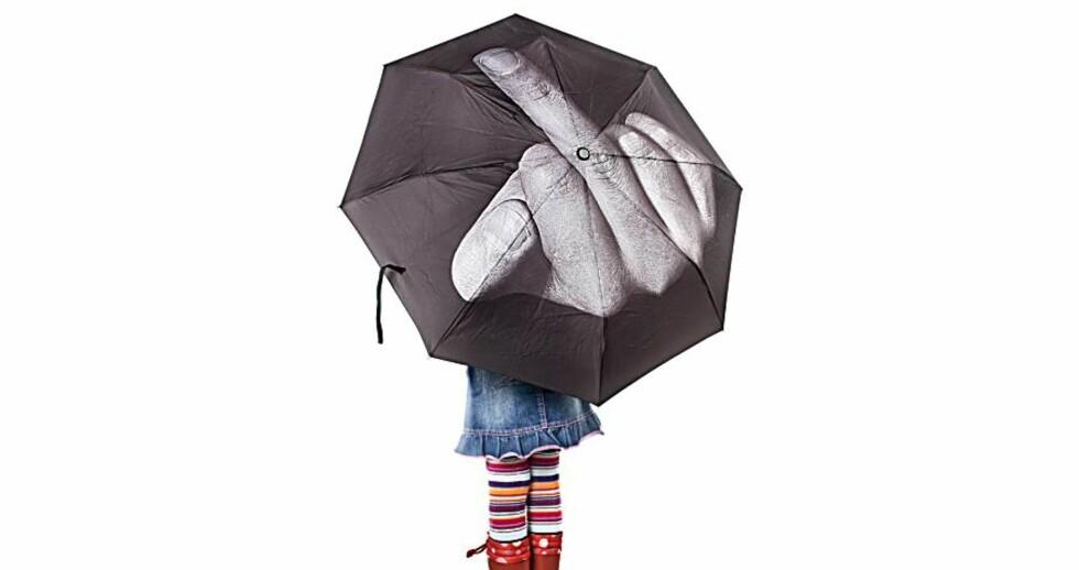 Vis fingeren til verden