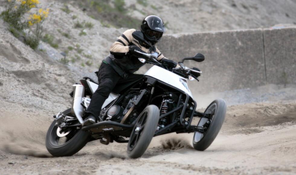 NYHET: Rå norsk motorsykkel
