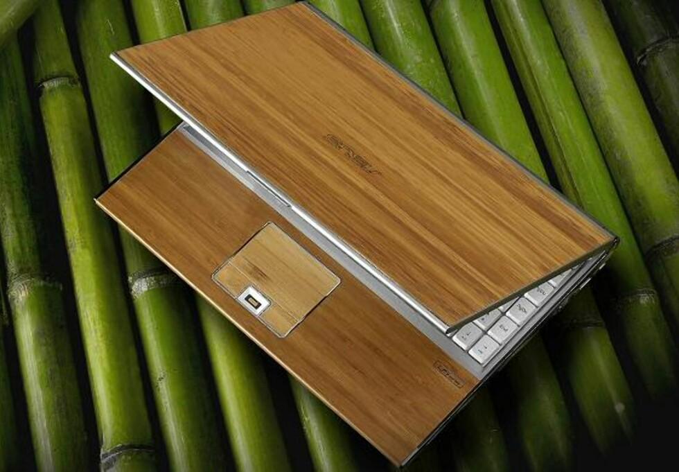 Bambus laptop fra Asus