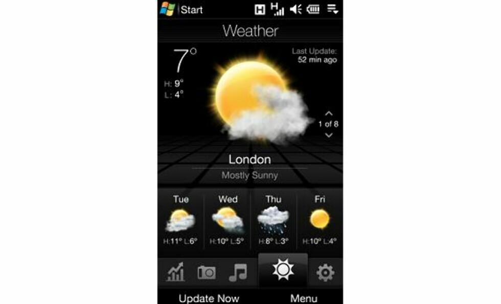 Nye HTC Touch HD